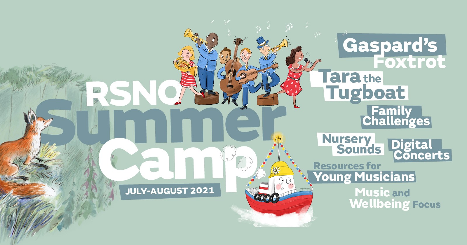RSNO launches digital Summer Camp for children to enjoy across the school holidays