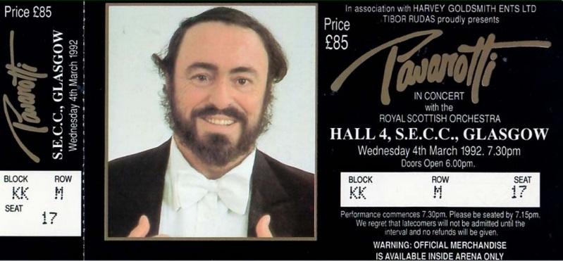 Guest Soloist: Luciano Pavarotti