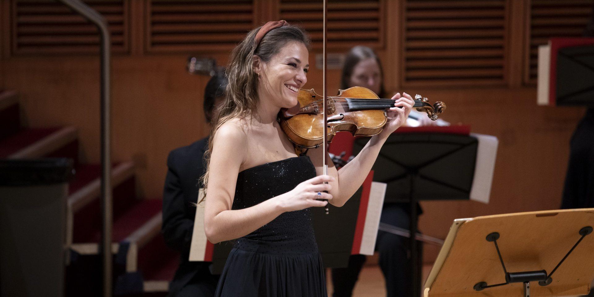 Szymanowski Violin Concerto No1 with Nicola Benedetti