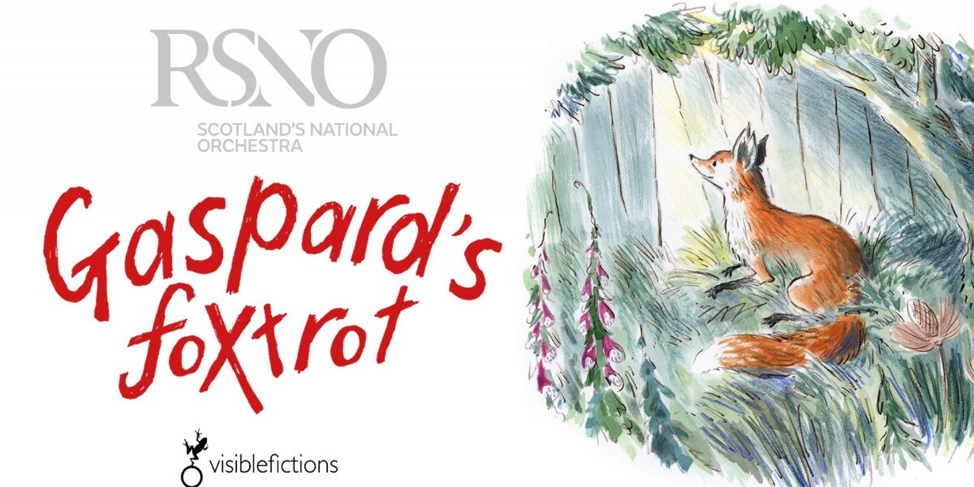 World Premiere of Gaspard's Foxtrot in Concert for RSNO National Schools Concert Programme 2021