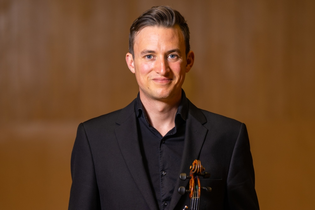 Patrick Curlett appointed to the position of Associate Principal 1st Violin